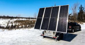 MOBISUN Mobile Off-Grid Solar Trailers