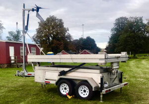 MOBILE HYBRIDWIND & SOLAR POWER SYSTEM