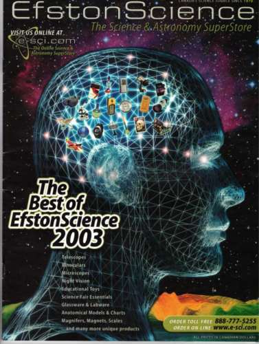 2003 ES Best of Catalogue Cover