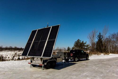 MOBISUN Mobile solar trailer